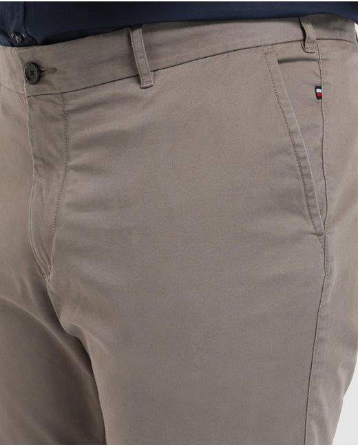 ae0c1679 ... Tommy Hilfiger - Multicolor Big And Tall Classic-fit Beige Chinos for  Men - Lyst ...