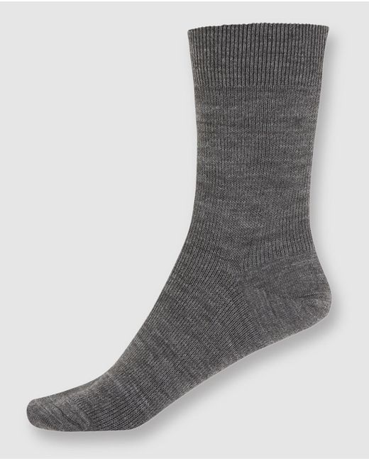 Punto Blanco - Gray Short Grey Socks - Lyst