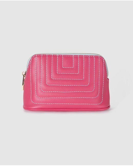 El Corte Inglés - Wo Pink Toiletry Bag With Zip - Lyst