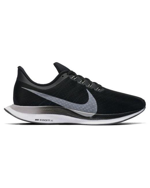 35e9311763f6 Nike - Black Zoom Pegasus Turbo Running Shoes - Lyst ...