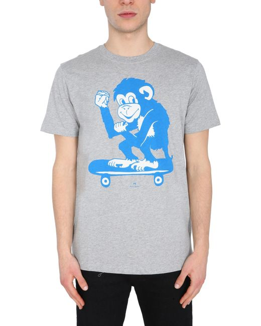PS by Paul Smith Gray T-shirt for men