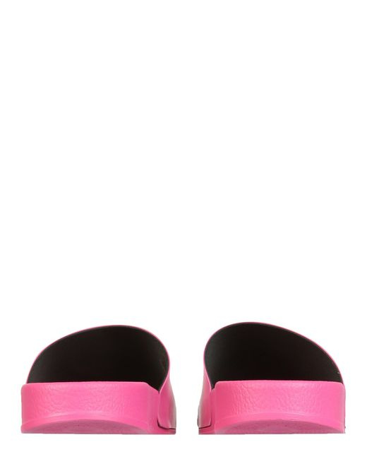Off-White c/o Virgil Abloh Pink Slide Sandals With Logo