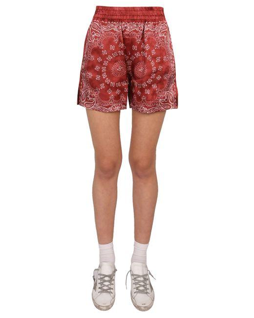 "Golden Goose Deluxe Brand Red ""cindarella"" Shorts"