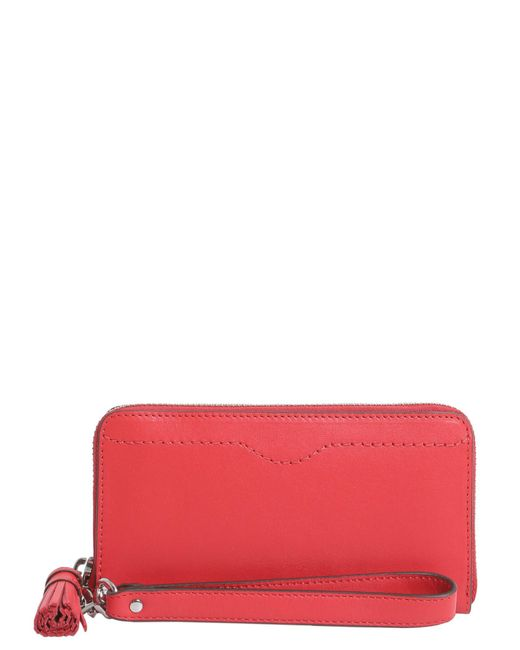 Rebecca Minkoff - Red M.a.b. Zip Around Phone Wallet - Lyst