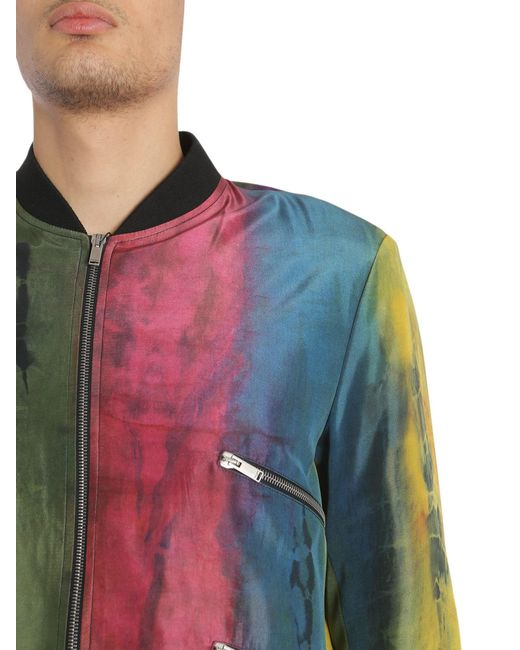 tie-dye varsity jacket - Multicolour Saint Laurent Sale Browse 2018 Unisex Outlet Collections Fast Shipping Clearance New Styles BuLEv