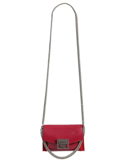 Givenchy - Multicolor Nano Gv3 Bag In Double Leather - Lyst