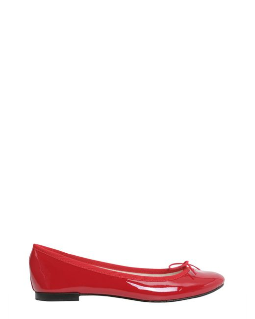 Repetto | Red Cendrillon Patent Ballet Flat | Lyst