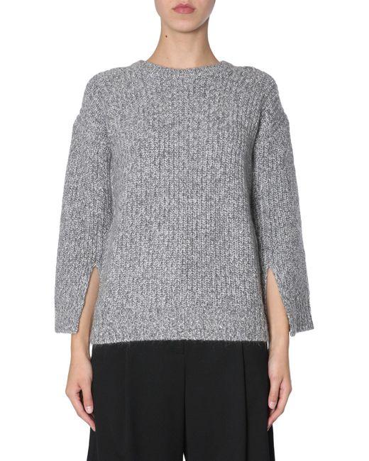Michael Kors Gray Grey Wool Sweater