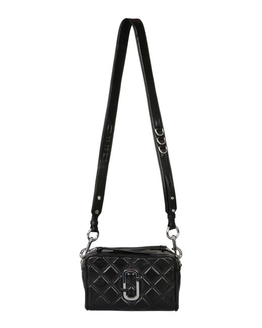 Marc Jacobs Black The Quilted Softshot 21 Cross Body Bag
