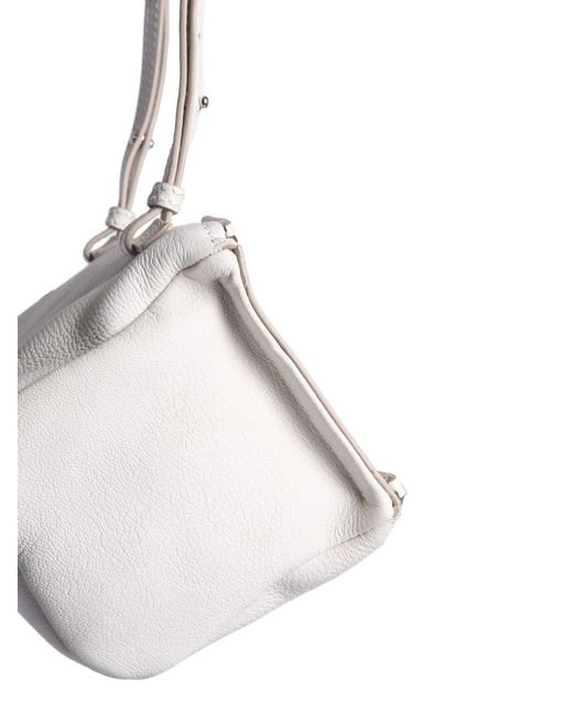 e6ac5805821 Lyst - Givenchy Small Pandora Bag In Hammered Leather in White ...