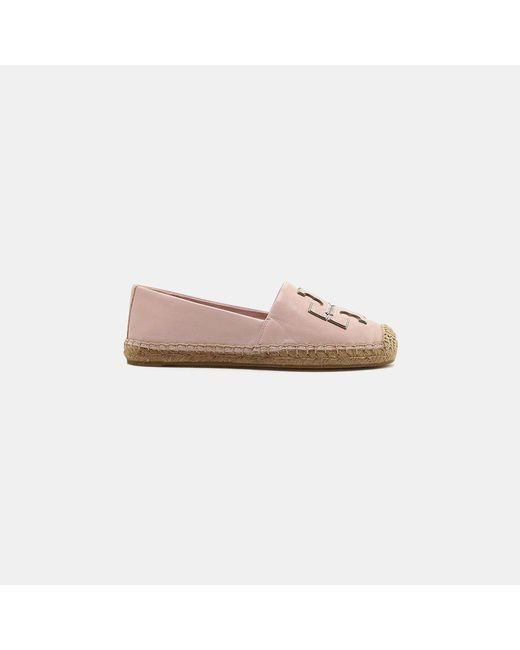 Tory Burch - Pink Espadrilles Slip On Shoes - Lyst