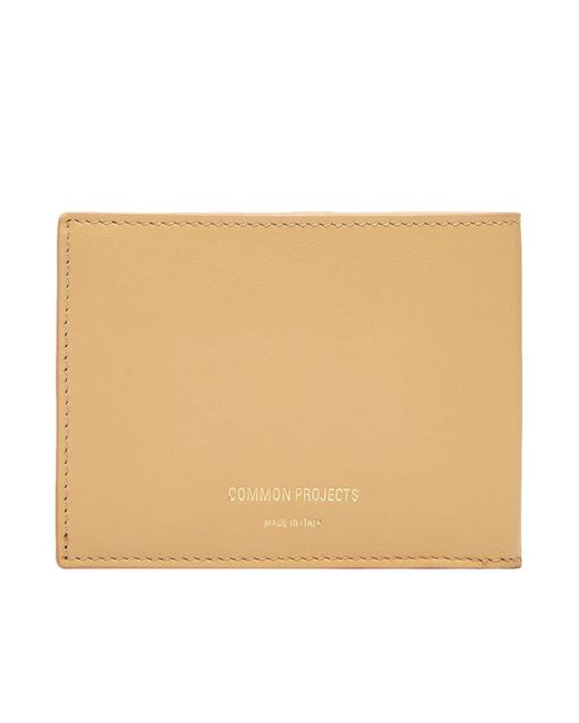 Common Projects Brown Standard Wallet for men