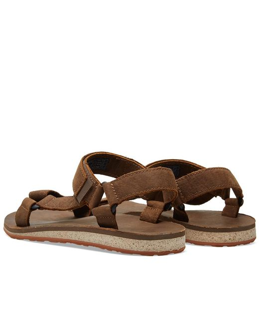 Lyst Teva Original Universal Premium Leather Sandal In