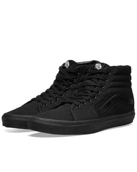 cfcaa47107 Lyst - Vans Sk8-hi in Black for Men - Save 35%
