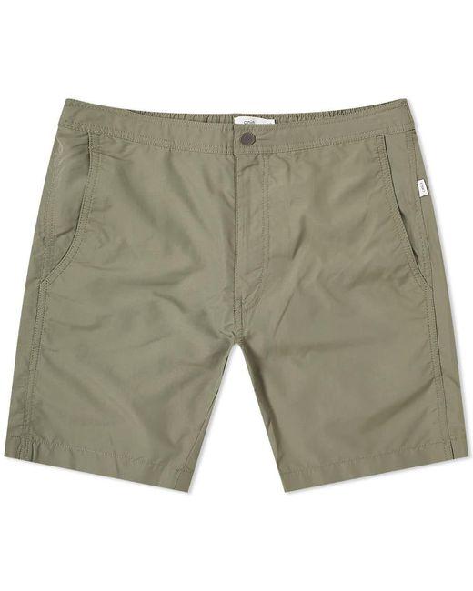 "Onia Green Calder 7.5"" Solid Swim Short for men"