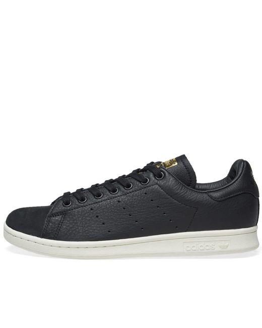 new style da04f a8c81 Lyst - Adidas Stan Smith Premium in Black for Men