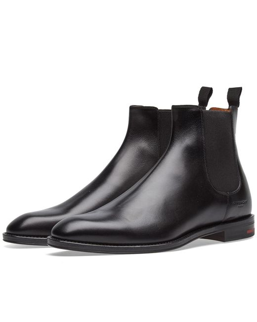 Givenchy | Black Leather Chelsea Boot for Men | Lyst