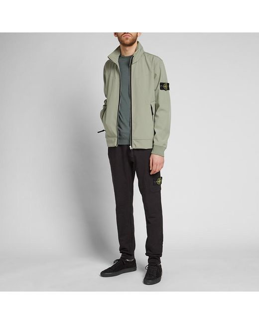 112ce7433 Men's Green Soft Shell R Concealed Hood Jacket