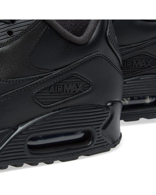 Men's Air 90 Black Leather Max Y7bf6gyv