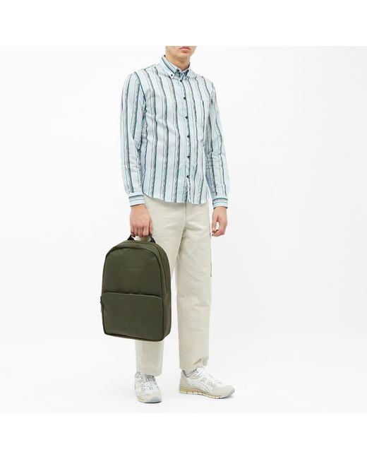 Rains Green Field Bag for men