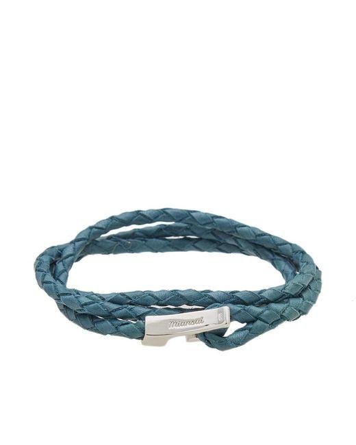 Miansai - Blue Ipsum Wrap Bracelet for Men - Lyst