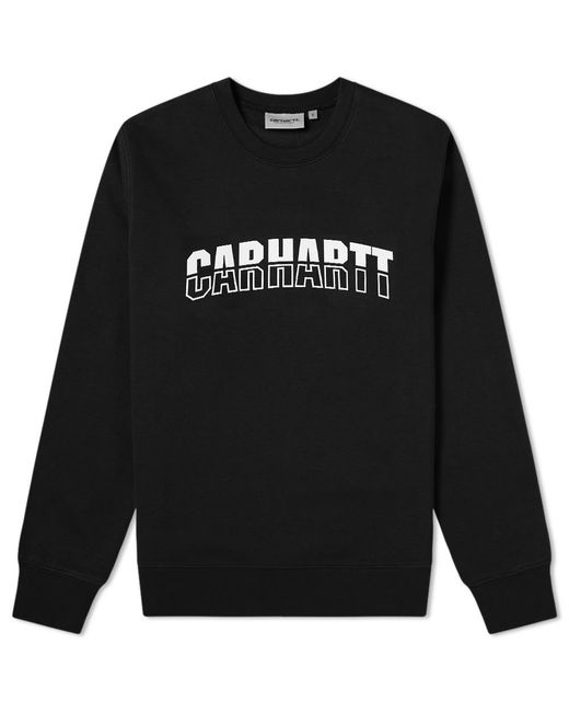 Carhartt WIP Black District Sweat for men