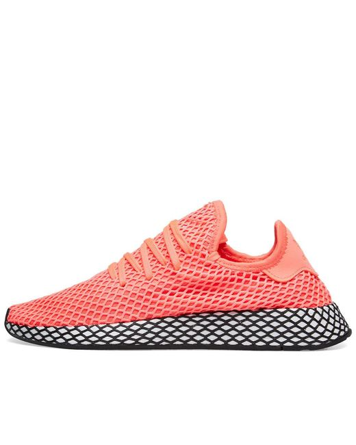 size 40 d5a69 656f5 ... Adidas - Pink Deerupt Runner for Men - Lyst ...