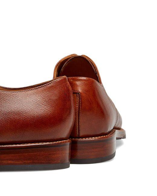 4fce4883a20 Men's Brown Curt Dainite Sole Derby Shoe