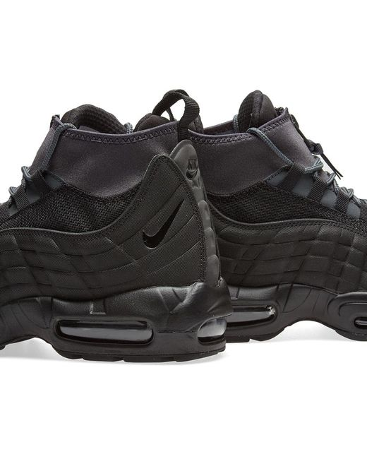 1bf40e19ee Lyst - Nike Air Max 95 Sneakerboot in Black for Men - Save 36%