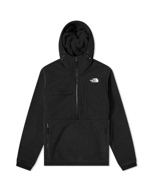 The North Face Black Denali Popover Fleece Jacket for men
