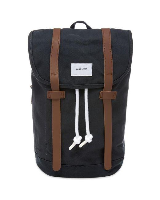 Sandqvist Blue Stig Backpack for men