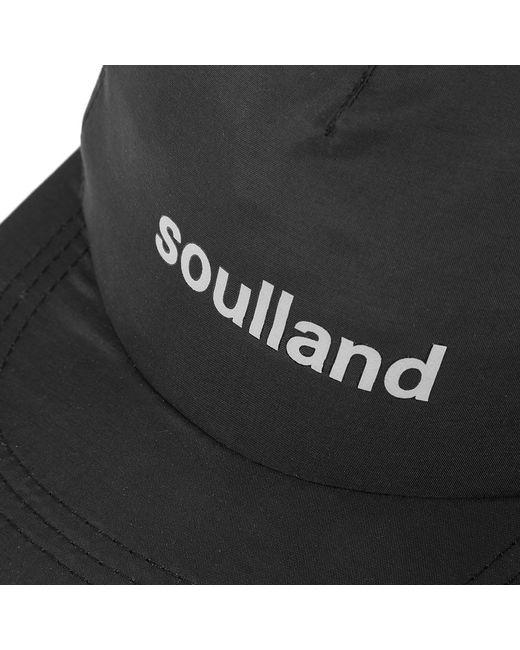 1ef1b08b31b Lyst - Soulland Bitterbukk 5 Panel Cap in Black for Men - Save 46%