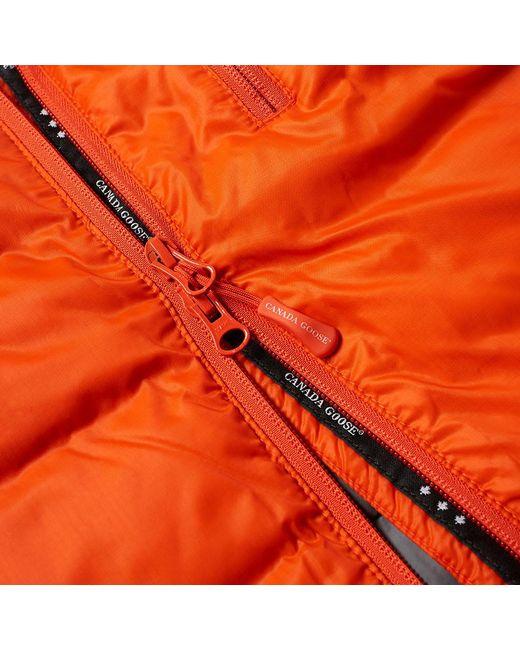 a4cfb04d924 Canada Goose Lodge Jacket in Orange for Men - Lyst