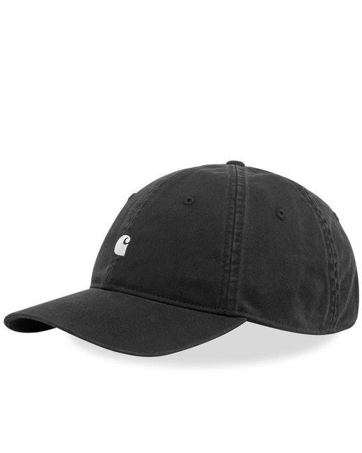 Carhartt WIP Black Madison Logo Cap for men
