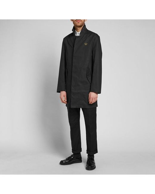 7d6ffc6668e8 ... Fred Perry Authentic - Black Fred Perry X Miles Kane Liberty Mac for Men  - Lyst