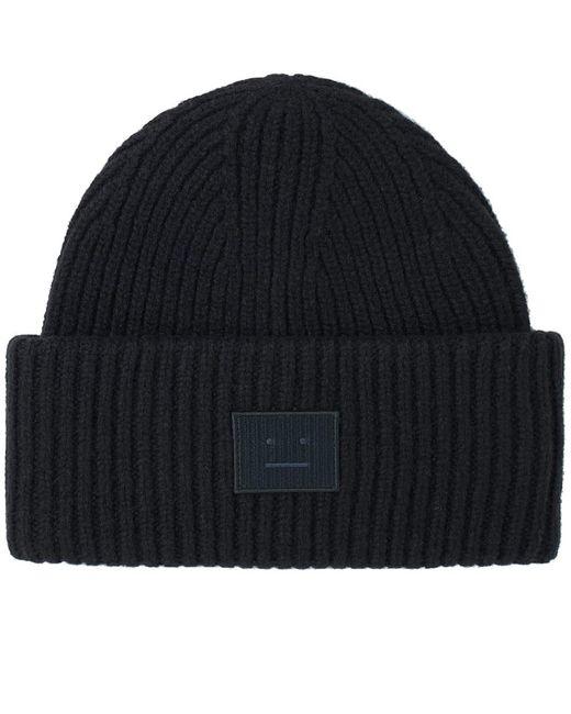 ccad6158714 Acne Studios Oversized Beanie black in Black for Men - Save 60% - Lyst