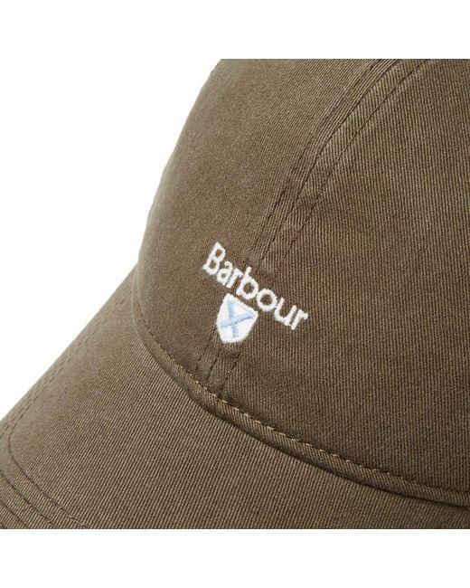 40092ef909afeb ... Barbour - Green Cascade Sports Cap for Men - Lyst ...