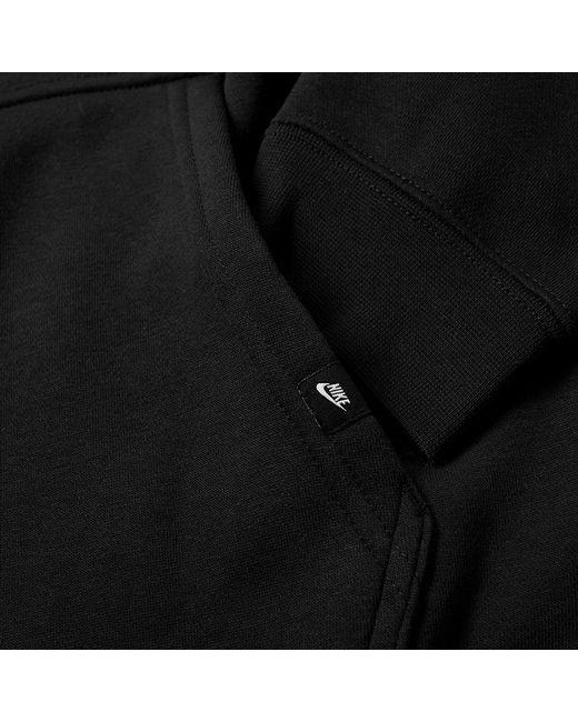 ... Nike - Black Hybrid Pullover Hoody for Men - Lyst ... 0d46aa271