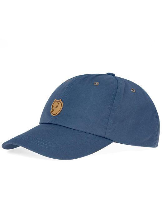 Fjallraven - Blue Helags Cap for Men - Lyst ... 48942a0b3991