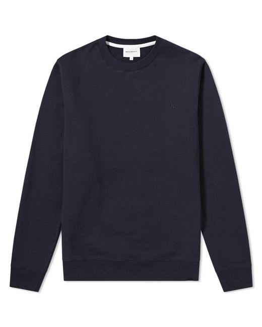 Norse Projects - Blue Ketel Classic Ivy Logo Sweatshirt for Men - Lyst
