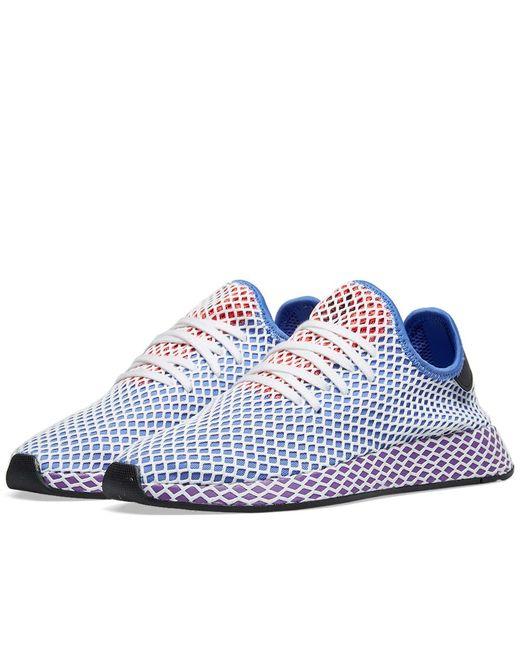 separation shoes 3d119 a9ddc Adidas - Purple Deerupt Runner W - Lyst ...