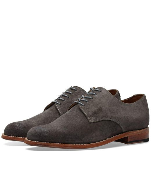 GRENSON - Gray Finlay Derby Shoe for Men - Lyst