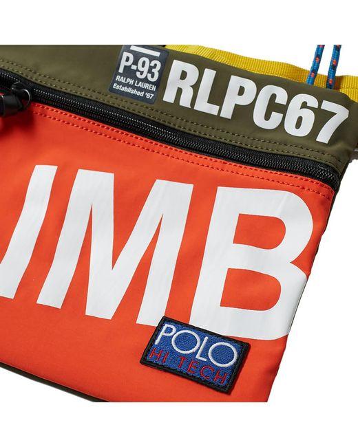 ac25f7bf5b4e ... Polo Ralph Lauren - Multicolor Hi-tech Pouch for Men - Lyst ...