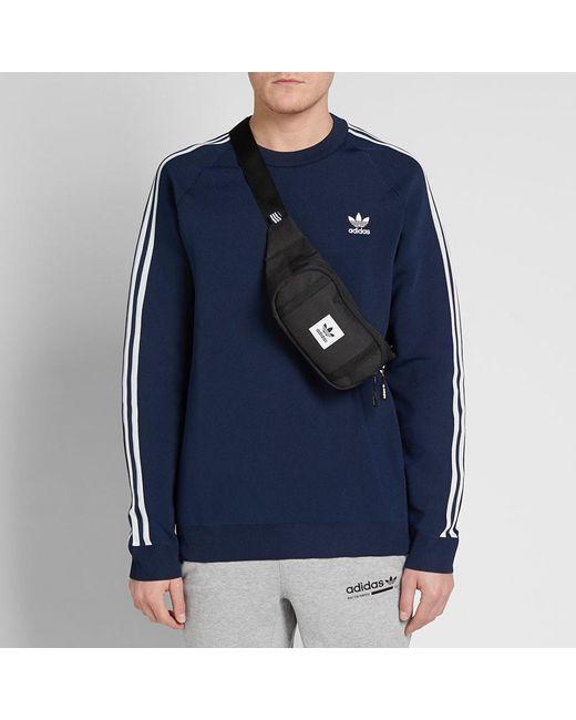 Men's Black Premium Essential Cross body Bag