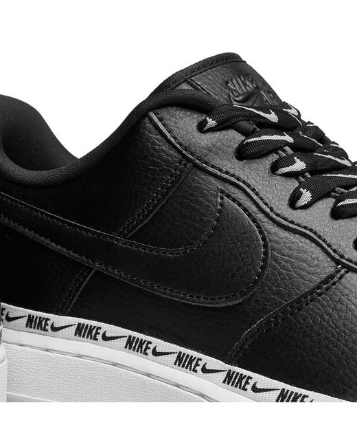 cbdb46c0dc Nike Air Force 1 '07 Se Premium W in Black - Save 44% - Lyst