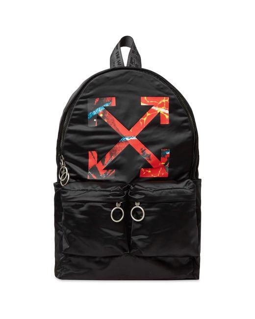 Off-White c/o Virgil Abloh Black Arrow Backpack for men