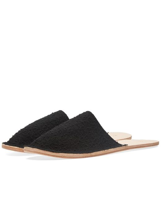 Maple - Black Casentino Wool Slipper for Men - Lyst
