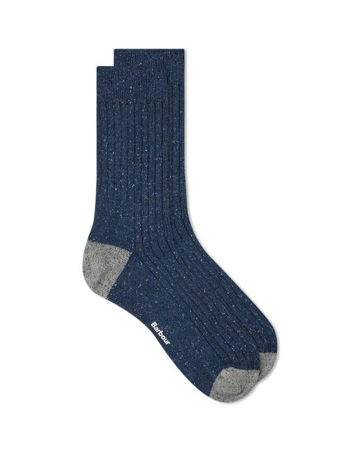 Barbour Blue Houghton Sock for men
