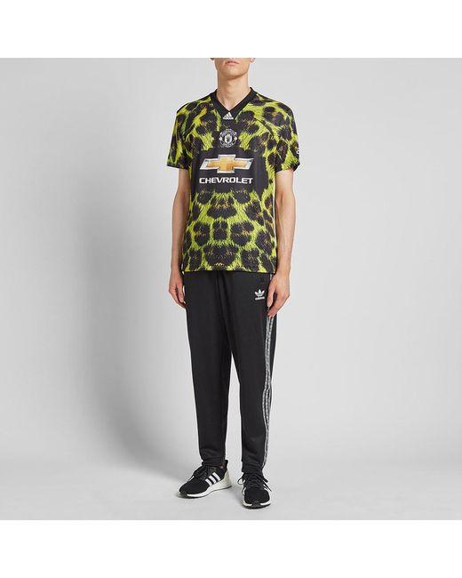 cedd0f692 ... Adidas Originals - Green Manchester United Football Jersey for Men -  Lyst