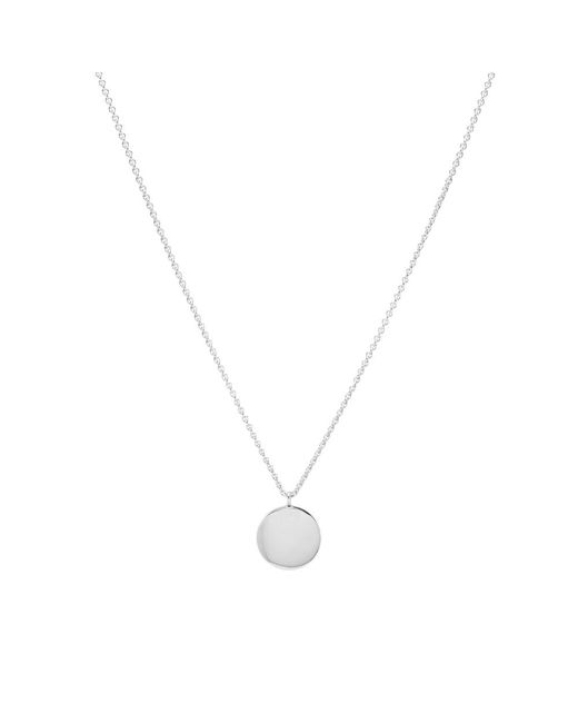 Tom Wood Metallic Medallion Necklace for men